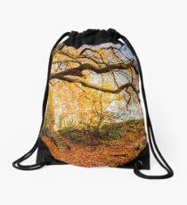 Autumns Golden Colours Drawstring Bag