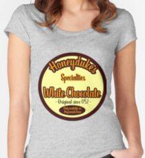Honeydukes Chocolate - White Version Women's Fitted Scoop T-Shirt