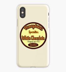 Honeydukes Chocolate - White Version iPhone Case/Skin