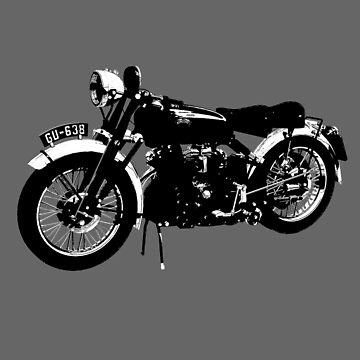 Vincent motorcycle - BlackShadow by Boxzero