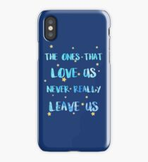 The ones than loves us iPhone Case/Skin