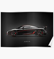 The Agera RS Poster