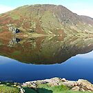 Reflections in Crummock Water by marmalade2008
