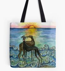 Sunset and True Love Tote Bag