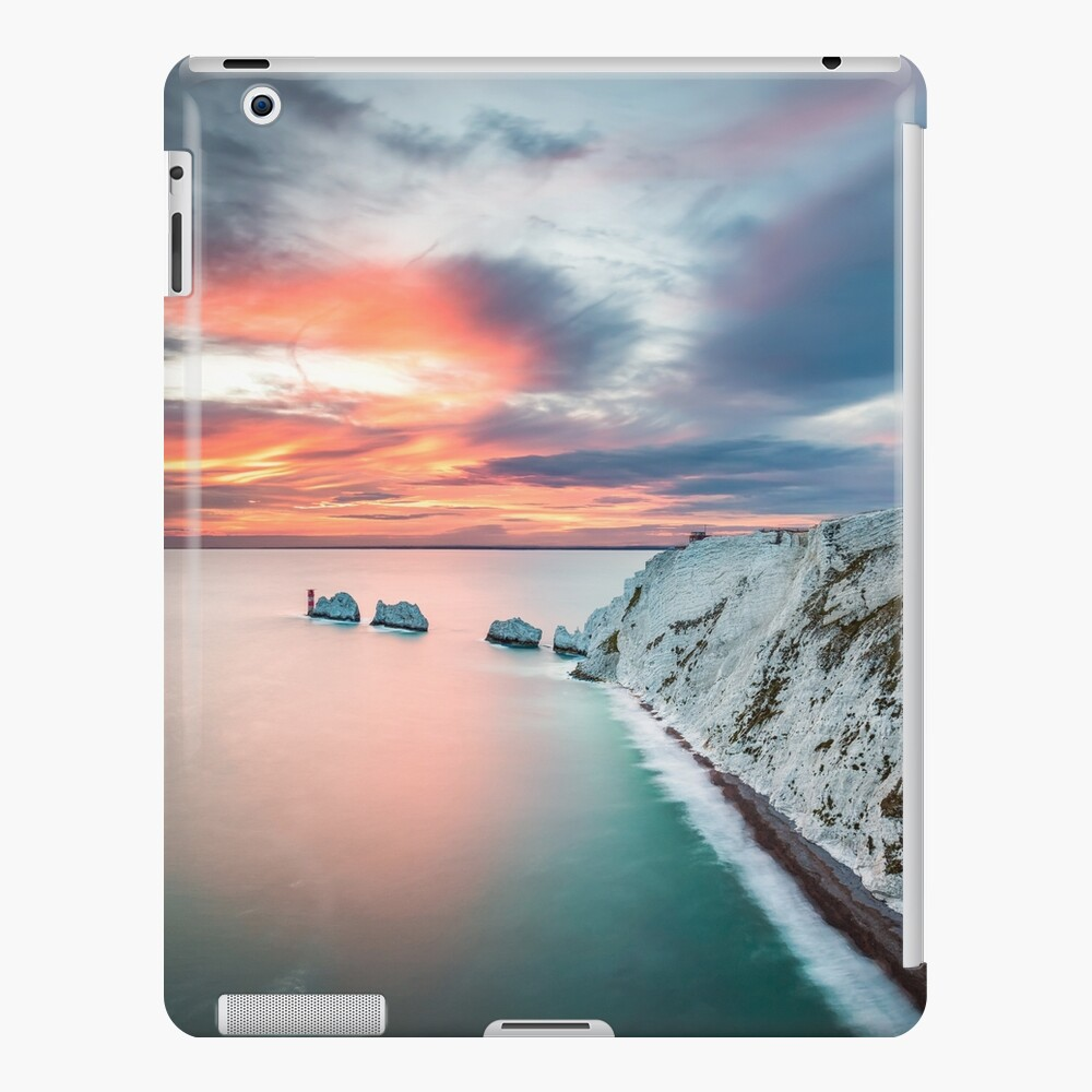 The Needles Sunset Funda y vinilo para iPad