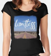 limitless - Design is a funny word. Some people think design means how it looks. Women's Fitted Scoop T-Shirt