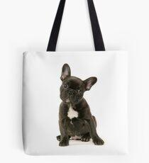 Cute French Bulldog Puppy Tote Bag