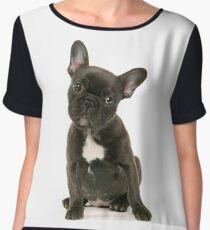 Cute French Bulldog Puppy Chiffon Top