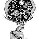 «Ciervo espacial» de Ruta Dumalakaite