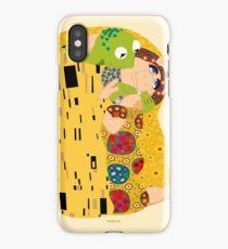 Klimt muppets iPhone Case/Skin