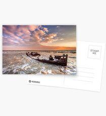 Shipwreck SS Carbon Postcards