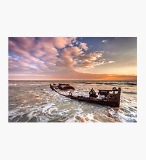 Shipwreck SS Carbon Photographic Print