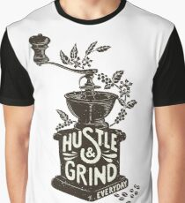 Hustle and Grind Graphic T-Shirt