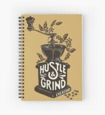 Hustle and Grind Spiral Notebook