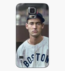 Ted Williams - Colorized Portrait Case/Skin for Samsung Galaxy