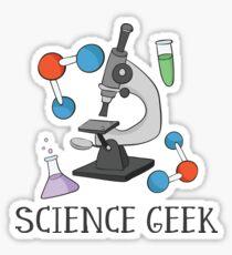 Science Geek Sticker