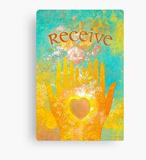 Receive Canvas Print