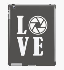 Photographer Funny Design - Love iPad Case/Skin