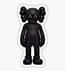 Kaws black Sticker