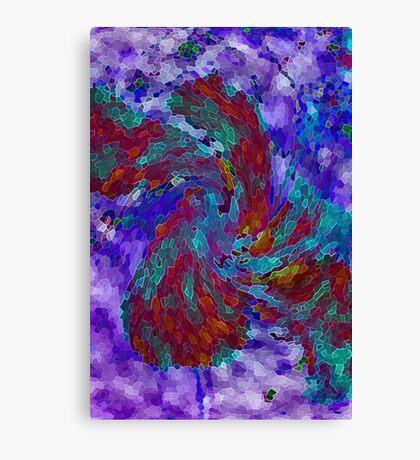 Twirly Flower Canvas Print