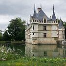 Azay le Rideau Castle by 29Breizh33