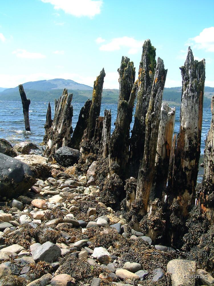 The Old Pier Strachur Loch Fyne 2 by chasmac