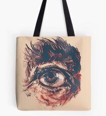 Hairy eyeball is watching you - Rötlich Tasche