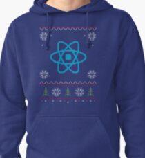 ReactJS JavaScript Programmer Ugly Sweater Christmas Pullover Hoodie