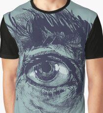 Hairy eyeball is watching you - Dunkelgrün Grafik T-Shirt