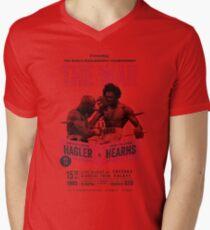 Hagler vs Hearns Boxing T-shirt Men's V-Neck T-Shirt