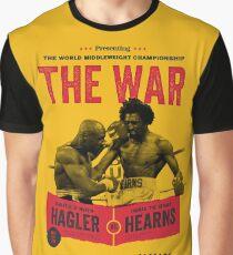 Hagler vs Hearns Boxing T-shirt Graphic T-Shirt