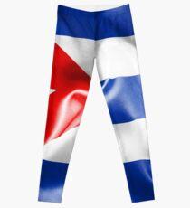 Kuba-Flagge Leggings