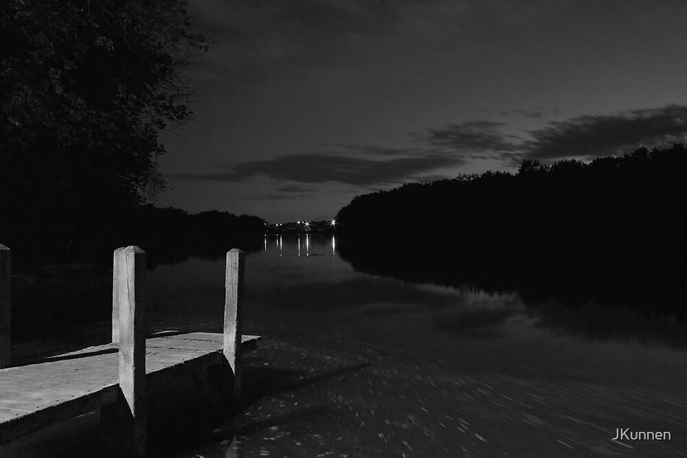 Dock At Night by JKunnen
