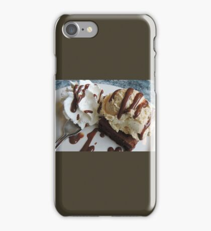 Annette's Brownie and Ice Cream  iPhone Case/Skin
