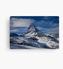 The Matterhorn from Zermatt Canvas Print