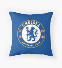Crest - Chelsea F.C. Throw Pillow