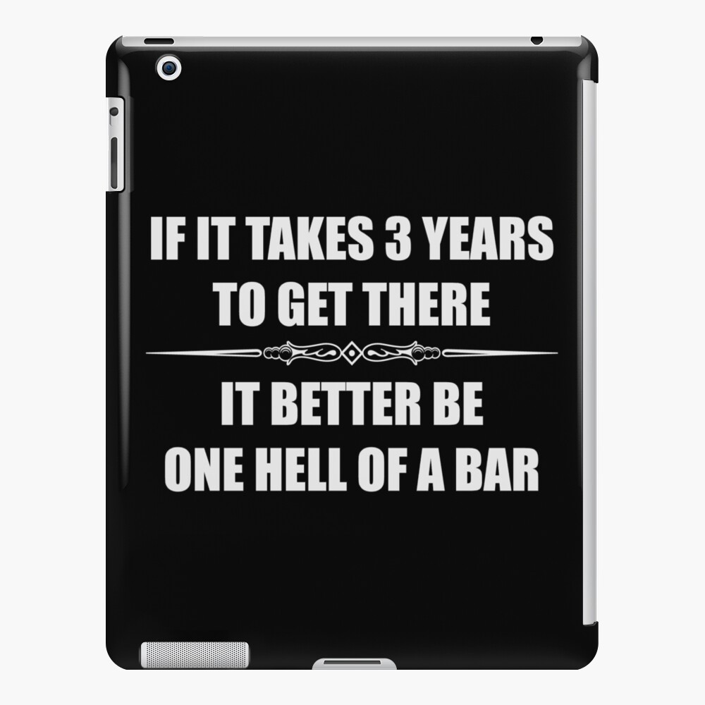 Law Student Bar Exam Funny Gifts for Law School - Funny Elle Woods | iPad  Case & Skin