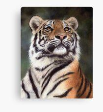 Amur Tiger Painting Canvas Print