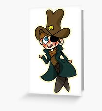 Small Sheriff Greeting Card