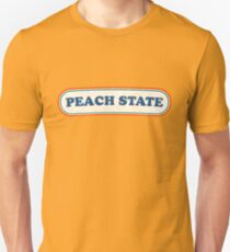 Peach State | Retro Badge Unisex T-Shirt