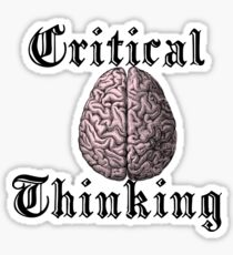 Critical Thinking Sticker