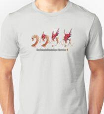 How Mega-Gyarados was Created Unisex T-Shirt