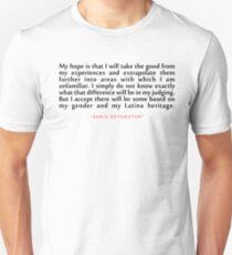 "My hope is...""Sonai Sotomoyar"" Inspirational Quote T-Shirt"