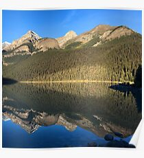 Photograph of Lake Louise in Banff National Park Poster