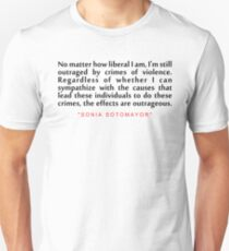 "No matter how...""Sonai Sotomoyar"" Inspirational Quote T-Shirt"