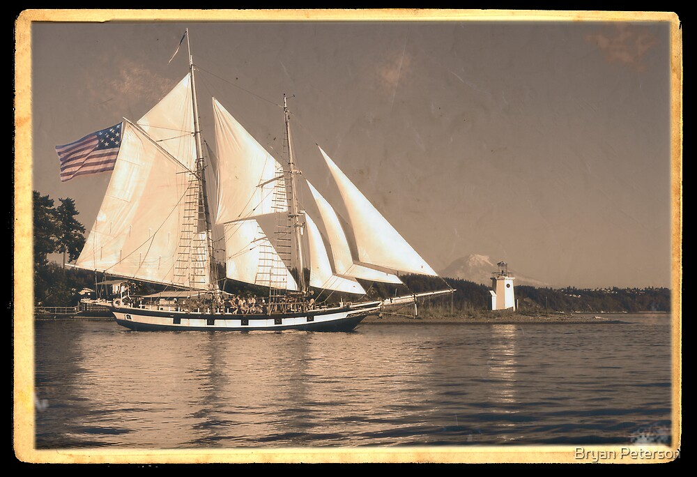 Gig Harbor in the 20s by Bryan Peterson