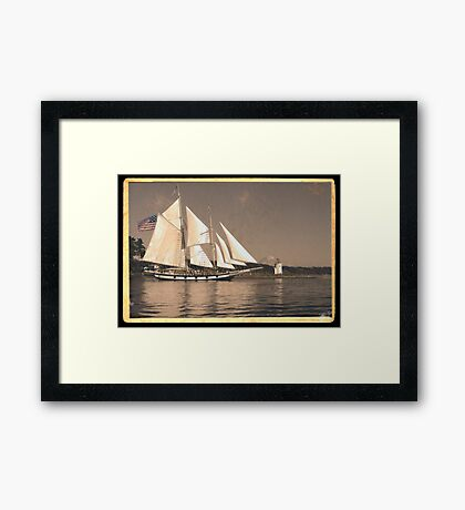 Gig Harbor in the 20s Framed Print