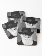 Charles Darwin Coasters
