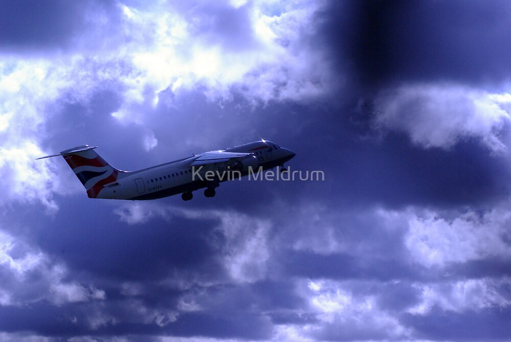 up up and away by Kevin Meldrum