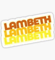 Lambeth | Retro Stack Sticker
